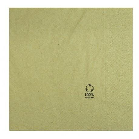 Paquet tovallons paper reciclat 2 capes 33x33cm
