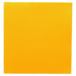 Paquet tovallons grocs 2 capes 33x33cm 50u