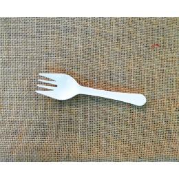 Forquilla compostable petita paq. 50u